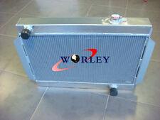 3 CORE 56mm ALLOY ALUMINUM RADIATOR FOR holden V8 chevy motor universal Manual