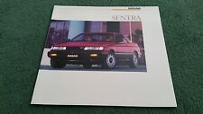 1987 / 1988 Model NISSAN SENTRA Coupe Saloon Wagon 3dr LARGE USA BROCHURE Sunny