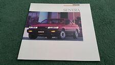 1987 / 1988 Model NISSAN SENTRA Coupe Saloon Wagon 3dr LARGE USA BROCHURE Sunny