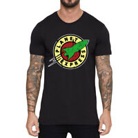 Planet Express Soft Funny T-shirt Men Cotton Casual Short Sleeve summer Tee Top