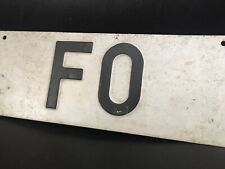 🔺Targa Forlì Tabella Insegna Pubblicitaria Vintage Originale Epoca Auto Design