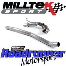 "Milltek Seat Leon Cupra 2.0 290PS 2014 en largebore bajante y Deportes Cat 3"" CE"