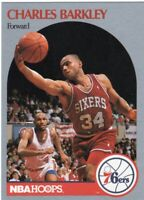 1990 NBA HOOPS BASKETBALL  CARD # 225 - HOF CHARLES BARKLEY - PHILADELPHIA 76ers