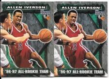 ALLEN IVERSON ROOKIE LOT 1996-97 THE SCORE BOARD 73 PHILADELPHIA SIXERS 76ERS