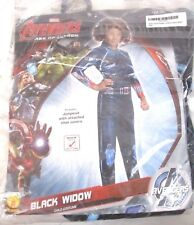 Avengers Black Widow Girls Rubies Halloween Cosplay Costume Sz M 8-10 NWT HA6a