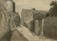 R. Russell - Signed Mid 20th Century Watercolour, Seaside Cottages