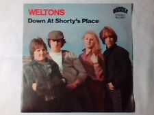 "WELTONS Down at Shorty's place 7"" ITALY UNIQUE PICTURE SLEEVE"