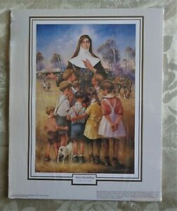 Darcy Doyle (d'Arcy W Doyle) Mary Mackillop Unframed Print Religious Picture