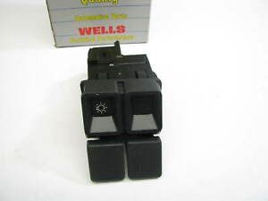 Wells SW245 Headlight Switch 87-93 Ford Mustang OE # E7ZB-11654-AE