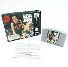 NBA JAM 99 - Nintendo 64 N64 - En boite - PAL EUR