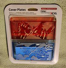 Cover Plates Pokémon Saphir Ruby Nintendo New 3ds - NEUF - coque Groudon Kyogre
