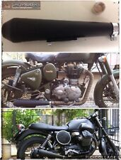 Scarico Terminale Marmitta Moto Megaton Universale Triumph Royal Enfield Bullet
