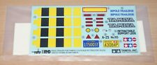Tamiya 56310 Pole Trailer for Tractor Truck, 9495327/19495327 Decals/Stickers