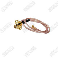 SMA female flange type to ufl/ipx RA pigtail Antenna Coaxial Cable RG178 15cm