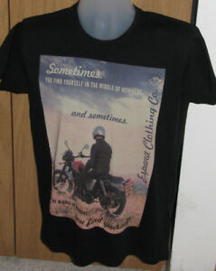 Limited Edition 1975 Espana Clothing Men's Medium Biker T-shirt