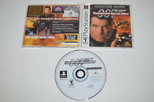 007 Tomorrow Never Dies Collectors Edition Playstation PS1 Video Game Complete
