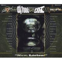 DJ Food & DK - Now Listen! NINJA TUNES CUT CHEMIST CD NEU OVP