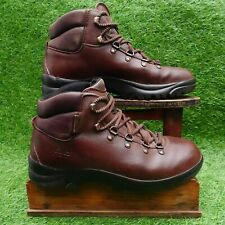LOMER Professional Sympatex Mens Brown Leather Hiking Boots Size 41 / UK Size 7