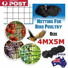 Muti-Sizes Commercial Fruit Tree Plant Knitted Anti Bird Netting Pest Net Mesh
