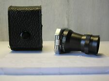 Viseur loupe ASAHI PENTAX viewfinder 2x magnifier + leather case