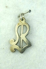 VTG COLONIAL WILLIAMSBURG IC STERLING SILVER CHARM CLOYED