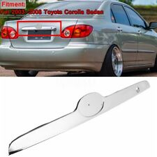Rear Trunk Lift Molding Trim Replacement For Toyota Corolla Sedan 2003-08 Chrome