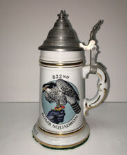 Porcelain Regimental German Stein Cold War 822nd Bomber Squadron 1958 Germany
