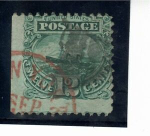 USA - Used - Sc 117 - 12c Green - condition as per scans