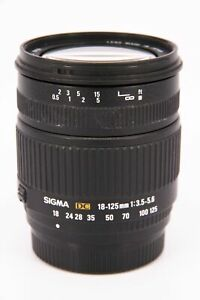 SIGMA 18-125mm f/3.5-5.6 DC Pentax AF   With A Fault - Professionally Tested