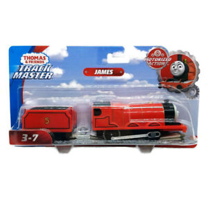 Thomas & Friends Track Master Motorized Action James w/ Tender New Free Shipping