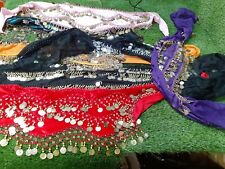 Bellie Belly Dancing Belt Skirt Wrap Round Used Job Lot outfit x 6