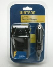Watson AC/DC Compact Charger For Panasonic Battery DMW-BLE9. Unused.