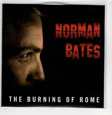 (GI506) The Burning Of Rome, Norman Bates - 2012 DJ CD