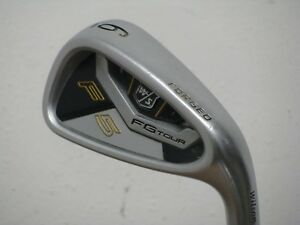 """Wilson FG Tour F5 Forged 6 Iron Stiff KBS Tour Steel """"FROM A SET"""" Very Nice!!"""