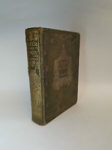 Peter and Wendy by J M Barrie 1911 Edition 4th Print Illustrated F D Bedford