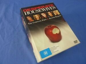 Desperate Housewives The Complete Seasons 1-2 Box Set DVD Region 4