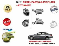 FOR MERCEDES E200 E220 E250 2.2 CDI W212 2009->NEW DPF DIESEL PARTICULATE FILTER