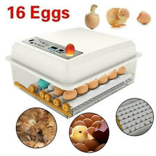 220V Household 16 Egg Automatic Incubator Chicken Duck Goose Pigeon Peacock EU*
