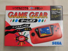 A1476 Sega Game Gear console system Red Japan w/box