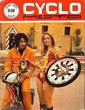 CYCLO MOTO 219 VELOCETTE LE VELOSOLEX SOLEX FLASH MOTOBECANE AV 89 Spéciale 1971