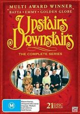 Upstairs Downstairs - The Complete Series (DVD, 2009, 21-Disc Set) NEW REGION 4
