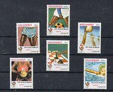 Mozambique Deportes olimpiada Seul año 1987 (CP-564)