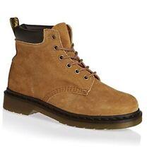 Dr. Martens Men's 939 Sz US 14 M / UK 13 Tan Nubuck Leather 6 Eye Boots $135