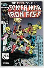 Power Man and Iron Fist 125 Final Issue