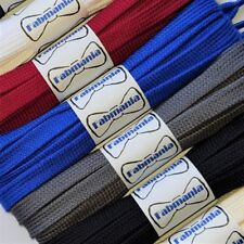 Flat Trainer Shoe Laces - ideal for Adidas Vans Nike Stan Smith - 60 to 160 cm