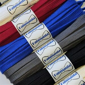 Flat Cotton Trainer Laces - ideal replacements for Converse, Nike, Gucci, Dior..