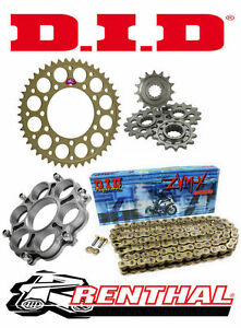 Renthal / DID Chain & Sprocket Kit with Carrier to fit Ducati 748 / 748S 95-03