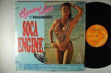 BYRON LEE and The DRAGONAIRES Soca Engine IMPORT LP JAMAICA Shrink DYNAMIC