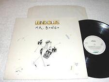 "Windows ""Mr. Bongo"" 1988 Rock LP, Nice EX!, Holland Pressing"