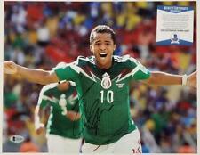 Giovani Dos Santos signed 11x14 Photo Autograph Mexico (E) ~ Beckett BAS COA